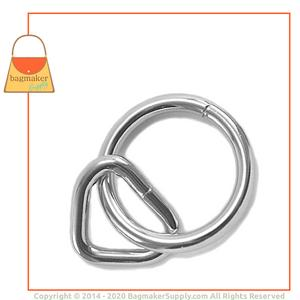 Representative Image of 1 Inch Loop with 1-1/2 Inch Ring, Nickel Finish