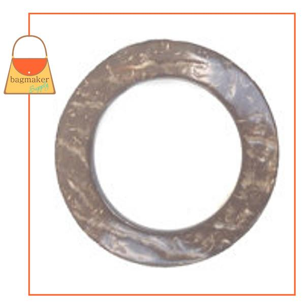 Representative Image of 1 Inch Coconut Shell Ring (RNG-AA005))