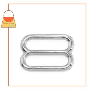 Representative Image of 3/4 Inch Cast Slide, Nickel Finish