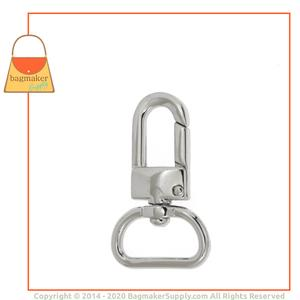 Representative Image of 3/4 Inch Lobster Claw Swivel Snap Hook, Nickel Finish