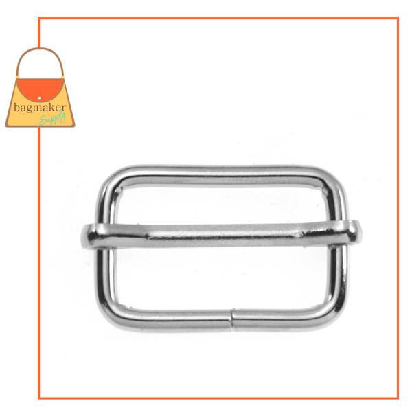 Representative Image of 1 Inch Moving Bar Slide, 3 mm Gauge, Nickel Finish (SLD-AA008))