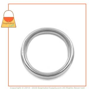 Representative Image of 1 Inch Wire Formed Stainless Steel O Ring