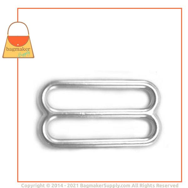 Representative Image of 1-1/2 Inch Cast Slide, Nickel Finish (SLD-AA014))