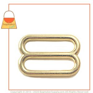 Representative Image of 1 Inch Cast Slide, Brass Finish