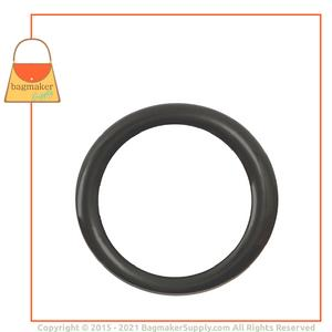 Representative Image of 1 Inch Cast O Ring, Italian Made, Gunmetal Finish