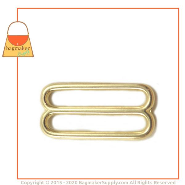 Representative Image of 1-1/2 Inch Cast Slide, Brass Finish (BKS-AA021))