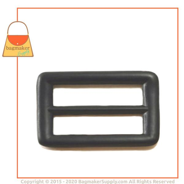 Representative Image of 1 Inch Center Bar Slide, Metal with Black Satin Finish (SLD-AA023))