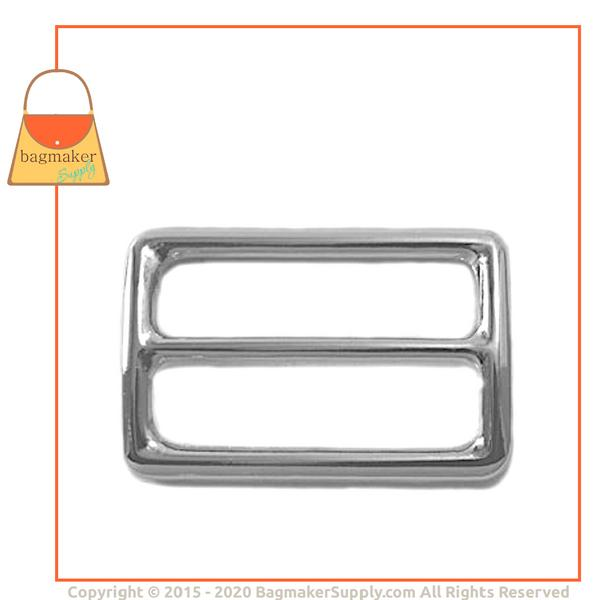 Representative Image of 1-1/2 Inch Center Bar Slide, Nickel Finish (SLD-AA025))