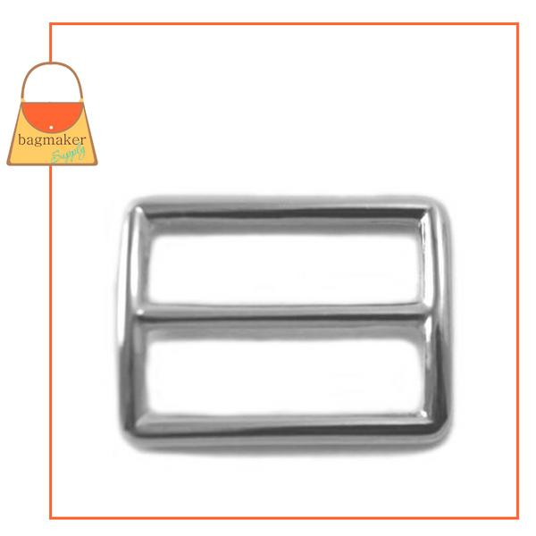 Representative Image of 1-1/4 Inch Concave Center Bar Slide, Nickel Finish (SLD-AA026))