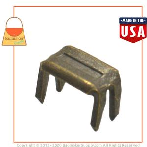 Representative Image of Zipper Bottom Stops, Size 5, Antique Brass Finish