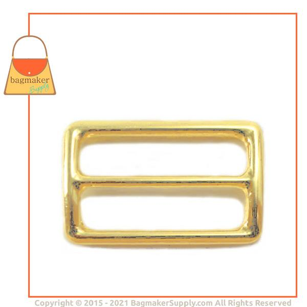 Representative Image of 1-1/2 Inch Center Bar Slide, Brass Finish (SLD-AA027))