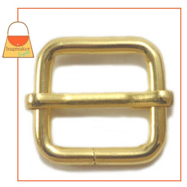Representative Image of 3/4 Inch Moving Bar Slide, Gold Finish (BKS-AA030))