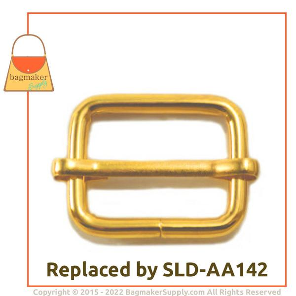 Representative Image of 1 Inch Moving Bar Slide, Gold Finish (BKS-AA032))