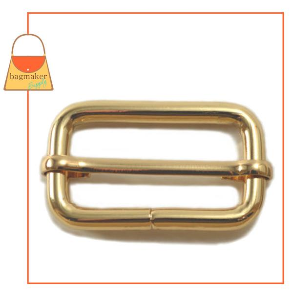 Representative Image of 1-1/2 Inch Moving Bar Slide 4mm Gauge, Gold Finish (BKS-AA034))