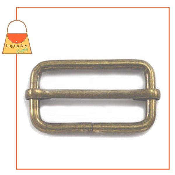 Representative Image of 1-1/2 Inch Moving Bar Slide, Antique Brass Finish (SLD-AA035))