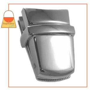 Representative Image of 1-15/16 Inch x 1 Inch Flap Catch, Nickel Finish