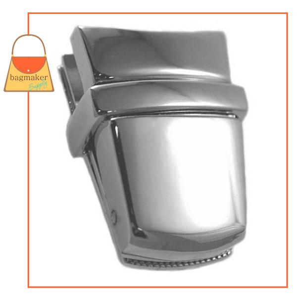 Representative Image of 1-15/16 Inch x 1 Inch Flap Catch, Nickel Finish (CSP-AA018))