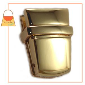 Representative Image of 1-15/16 Inch x 1 Inch Flap Catch, Gold Finish