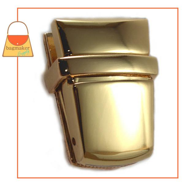 Representative Image of 1-15/16 Inch x 1 Inch Flap Catch, Gold Finish (CSP-AA020))