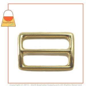 Representative Image of 1-1/4 Inch Center Bar Slide, Brass Finish