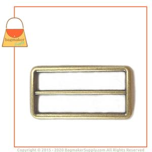 Representative Image of 2 Inch Center Bar Slide, Antique Brass Finish