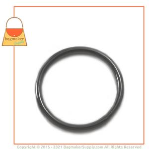 Representative Image of 2 Inch Cast O Ring, Gunmetal Finish