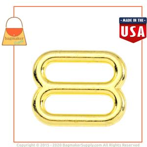 Representative Image of 5/8 Inch Cast Slide, Brass Finish
