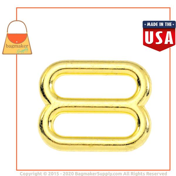 Representative Image of 5/8 Inch Cast Slide, Brass Finish (BKS-AA039))