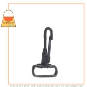 Representative Image of 1 Inch Stationary Snap Hook , Black Finish
