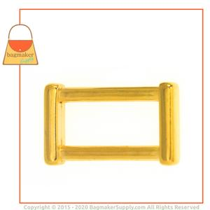 Representative Image of 1 Inch Cast Rectangle Ring, Gold Finish