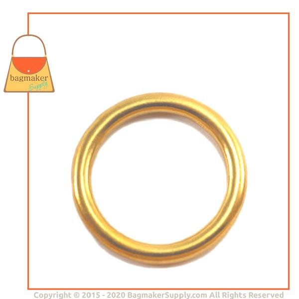 Representative Image of 1-1/4 Inch Cast O Ring, Solid Brass (RNG-AA150))