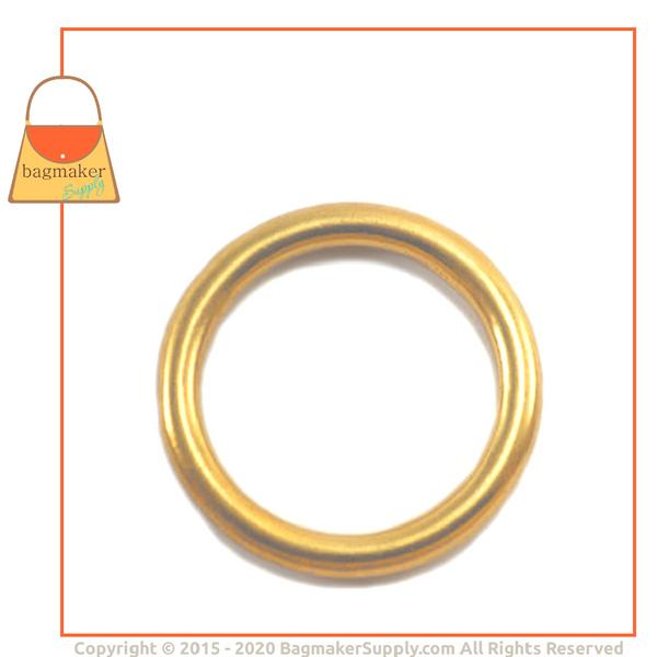 Representative Image of 1-1/2 Inch Cast O Ring, Solid Brass (RNG-AA151))